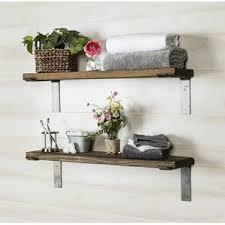 wooden shelves you u0027ll love wayfair
