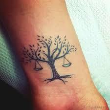 Best Libra Tattoos On Wrist For Men