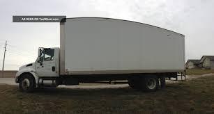 100 24 Box Truck 2005 International Durastar 4300 W Roll Up Door