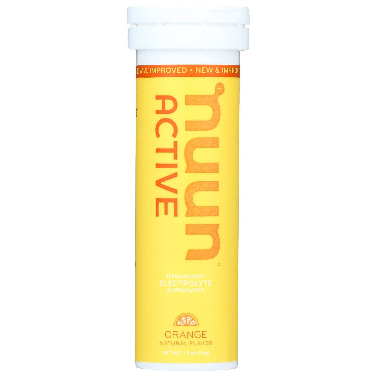 Nuun Active Effervescent Electrolyte Supplement - Orange, 54g