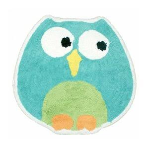 Saturday Knight Tufted Bath Rug - Owl