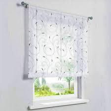 gardinen vorhänge raffrollo weiß raffgardinen modern