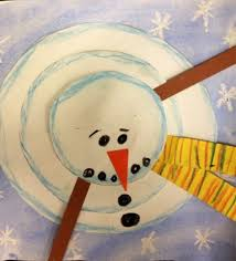 Art Activities New View Of A Snowman Out The Box Preschool Craft
