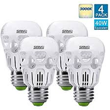 upgraded sansi 40 watts equivalent led light bulb a15 led bulb