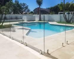 Glass Pool Fencing Greensboro NC