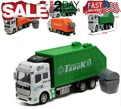 100 Rubbish Truck Toys For Boys Garbage Car 3 4 5 6 7 8 9 Year Old Kids