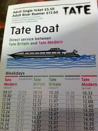 the tate boat timetable picture of tate britain