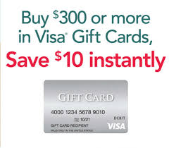 fice Depot Max $10 off $300 in Visa Gift Cards 3 11 3 17