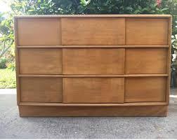 Heywood Wakefield Dresser With Mirror by Heywood Wakefield Dresser Etsy