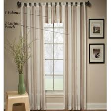 Nicole Miller Home Two Curtain Panels by Interior Decoration Stunning White Window Curtain Single Excerpt