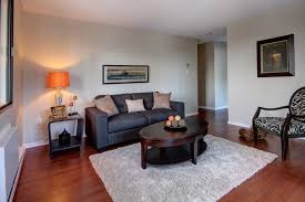 wooden laminating flooring modern home living room design grey