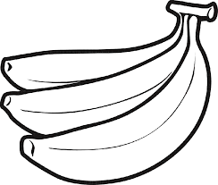 Banana clipart black and white free images