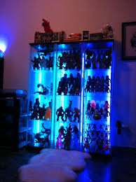 Detolf Glass Door Cabinet White by Detolf With Led Lights Page 3 Skullbrain Org