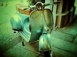 Vintage Vespa By Anthony Penkul