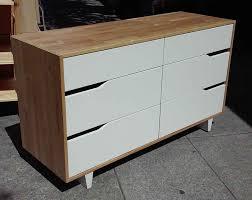 6 Drawer Dresser Ikea by Uhuru Furniture U0026 Collectibles Sold Ikea Mandal 6 Drawer Dresser