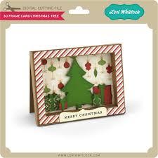 3D Frame Card Christmas Tree 199 Image 1