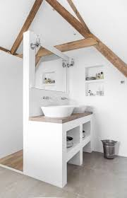 bad unterm dach einfach genial eingerichtet small bathroom