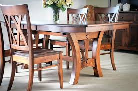 Cheap Dining Room Chairs This Magnificent Solid Maple Table With Two Leaf Extensions Expertly Crafted