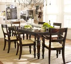 pottery barn montego turned leg dining table copy cat chic