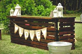 Diy Pool Furniture Outdoor Pallet Bar Made From Pallets Deck