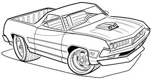 Printable Transportation Truck Cars Coloring Sheets For Kids