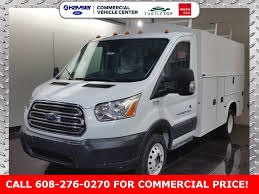 New 2018 Ford Transit 350 HD Service Utility Van For Sale In Madison ...