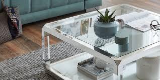 couchtisch cordoba quadratisch glastisch weiss chrom 85 x 85cm