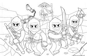 Printable Coloring Pages Of Ninjago For KidsFree
