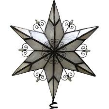 Holiday Time Metal Star Christmas Tree Topper