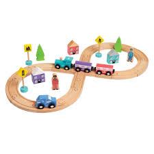 hamleys wooden figure of 8 train u0026 track set 30 00 hamleys