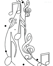 Music Coloring Pages For Toddlers Free Christmas Sheets Ideas Children