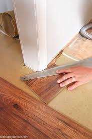 Installing Laminate Floors In Kitchen by Best 25 Laying Laminate Flooring Ideas On Pinterest Laminate