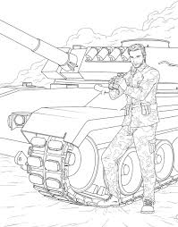 Amazon Men In Uniform Adult Coloring Book 9781682611319 M G Anthony Books
