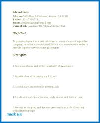 Truck Driver Resume Examples Sample Tow