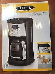 Bella 12 Cup Programmable Coffee Maker Dots Rh Micell Info Apple Green Manual