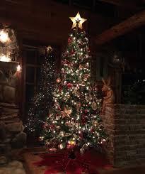 Flocked Slim Xmas Trees by The Range Christmas Trees Whitechristmastree Club
