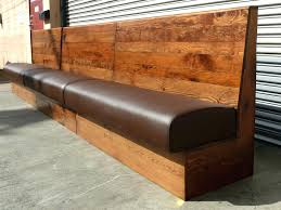 Long Backless Sofa Crossword by Wooden Benches With Backs U2013 Ammatouch63 Com
