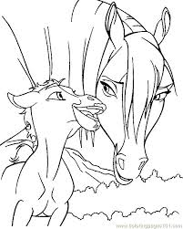 Full Image For Horse And Pony Coloring Pages Free Printable