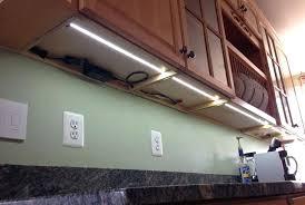 led light kit kitchen cabinet lighting installation