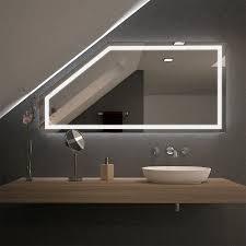 spiegel für dachschrä mit led beleuchtung fiola 989707058
