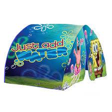sponge bob squarepants blue and green bed tent for boys fits