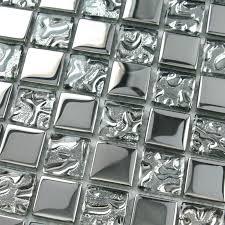 Accent Tiles For Kitchen Backsplash Glass Silver Mosaic Tile Kitchen Backsplash Small Wall Tiles Bathroom Shower Accent Tile