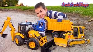 100 Dump Trucks Videos Truck Toys For Kids New Toy Truck For Children Toy