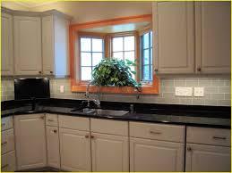 countertops backsplash glass subway tile kitchen backsplash