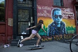 Joe Strummer Mural East Village by Gabba Gabba Hey La Ruta Punk Por Nueva York