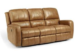 Flexsteel Vail Sofa Leather by Flexsteel Sofas