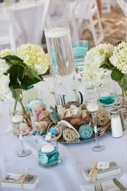 Beach Themed Wedding Decorations Smart Idea 8 36 Amazing Centerpieces