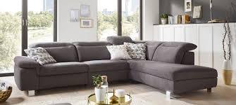 anthrazit wohnlandschaften sofas couches wohnzimmer