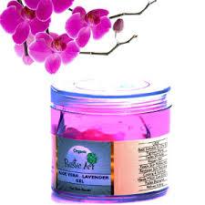 Organic Aloe Vera Lavender Gel Rustic Art Chemical Free Dry Skin Tightens Pores Anti Wrinkles