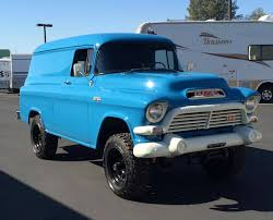 Hemmings Find Of The Day – 1957 GMC 100 NAPCO Panel | Hemmings Daily Check Out This 1950s Chevy Napco Retromod Cversion 1957 Truck Stock Photos Images Alamy Gmc Panel Hot Rod Network Chevrolet Task Force Wikipedia Coe The Panel Truck On The Back Is Fantastic 3800 1 Ton Stake Kromrey Kustoms Performance Quiksilver Genho Zl1 Restomod West Coast Customs Hemmings Find Of Day 100 Daily Vintage Pickup Searcy Ar 4x4 Rust Free Very Cool Project Gmc Rat Rod 12 Ton Van Restored And Rare For Sale Youtube